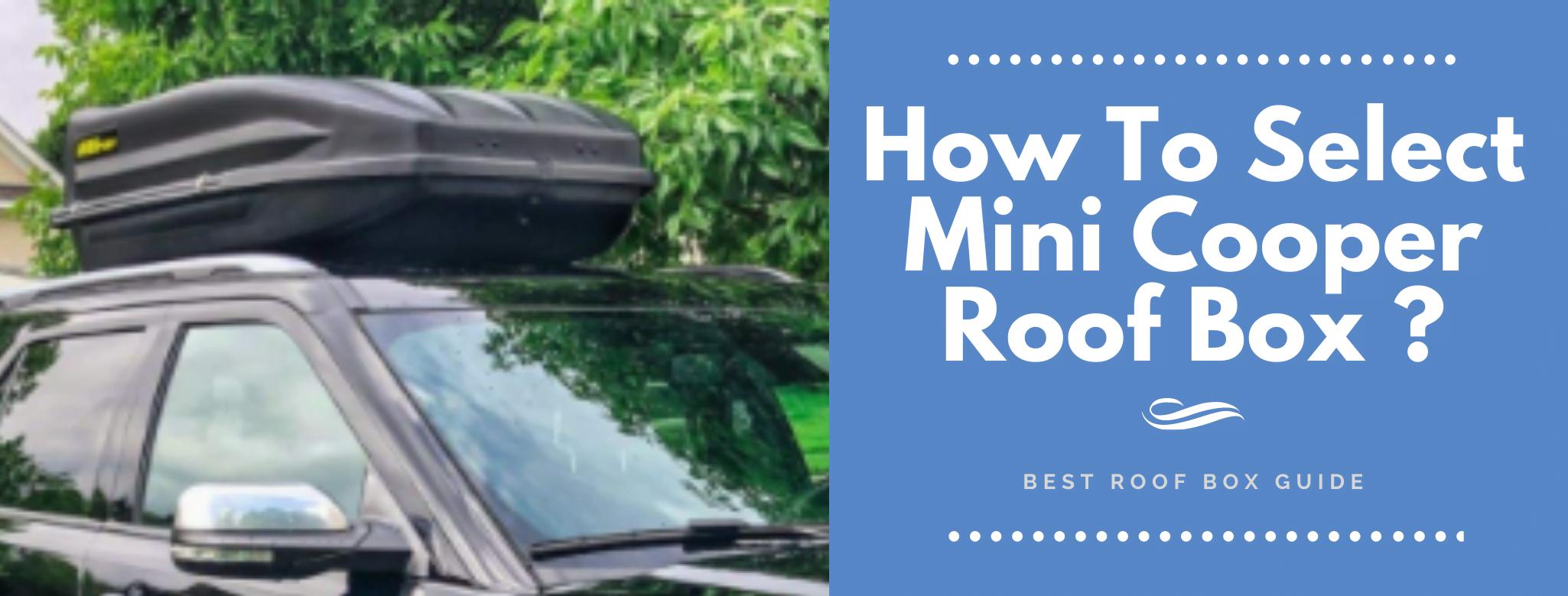 Mini Cooper Roof Box